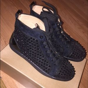 info for 79a7b 8cbae italy christian louboutin sneakers price 8df3c 28580